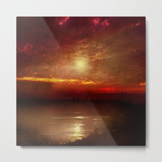 Music from the sun Metal Print
