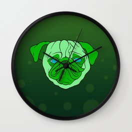 fatpughead - sea creature Wall Clock