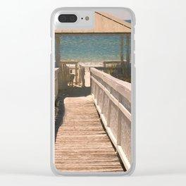 Pure Bliss Cape San Blas Clear iPhone Case