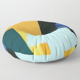color and form 18-01 Floor Pillow