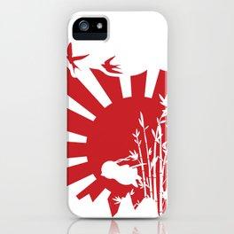 Penguin Bushido iPhone Case