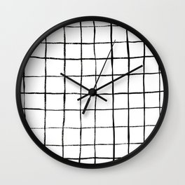 Grid 1 Wall Clock