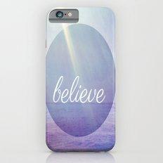 Believe {Purple Version} Slim Case iPhone 6s