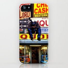 Deductions iPhone Case
