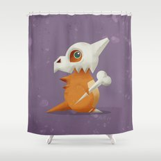 104 Cubone Shower Curtain