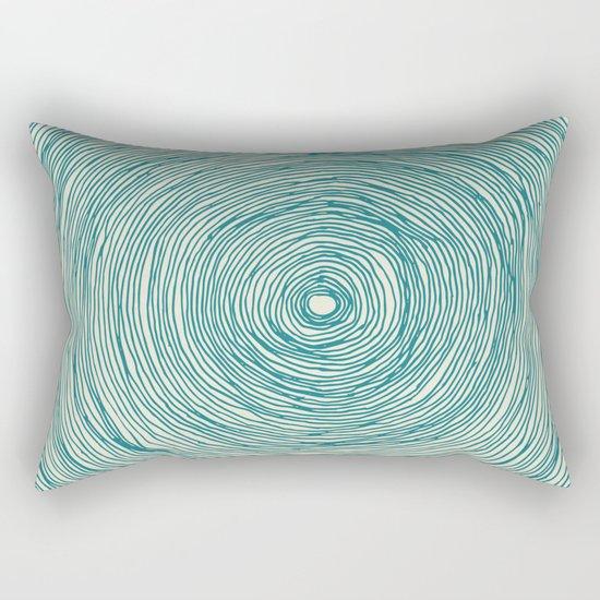 BLACK HOLE GREEN Rectangular Pillow