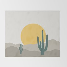 Desert Dreamin' Throw Blanket