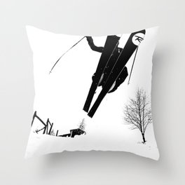 Backyard Shenanigans Throw Pillow