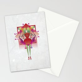 The Queen of Legs Stationery Cards