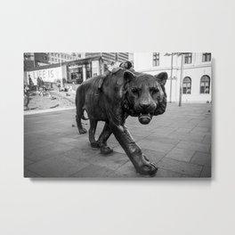 Urban Mowgli Metal Print
