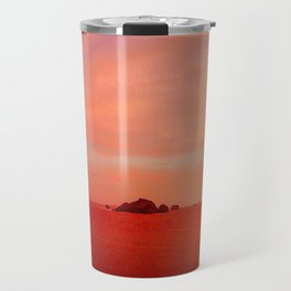 Drone Krabi Sunset, Thailand Travel Mug