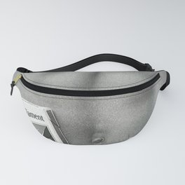 Pack of Parliament's, Bare Midriff black and white photograph / photography Fanny Pack