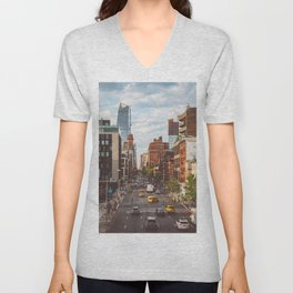 Highline View Unisex V-Neck
