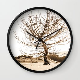Leafless Wall Clock