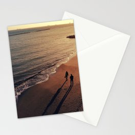 Beach Walk Stationery Cards