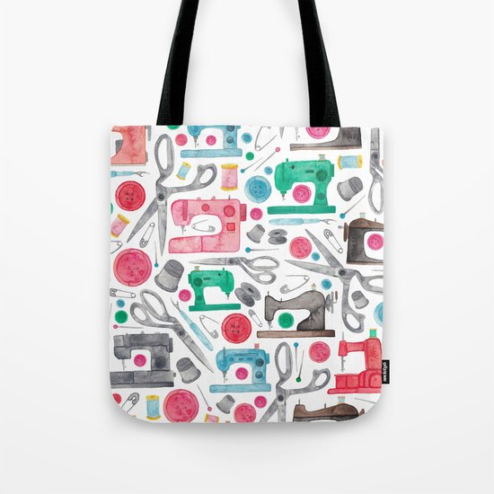 Sewing Pattern. Tote Bag