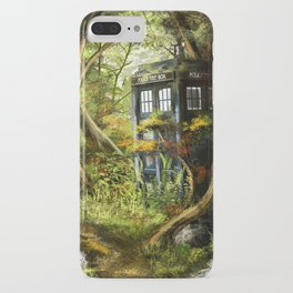 Doctor Who - Tardis in the Woods iPhone Case