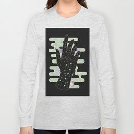 Taurus - Zodiac Constellation Illustration Long Sleeve T-shirt