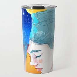 Fire Hands Travel Mug