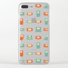 Handheld History Clear iPhone Case