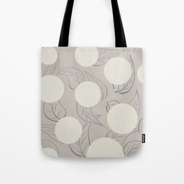 Polka dot flower Tote Bag