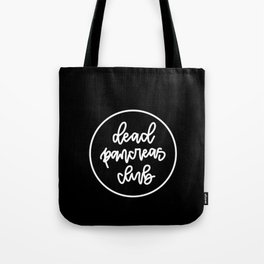 Dead Pancreas Club - White/Black Tote Bag