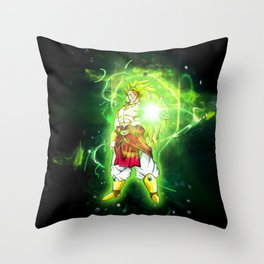 Broly SSJ3 Throw Pillow