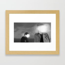 The doubt Framed Art Print