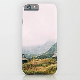 Hala Gasienicowa Autumn | Tatra Mountains Poland iPhone Case