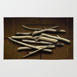 DRIFTWOOD ON WOOD GRID Rug