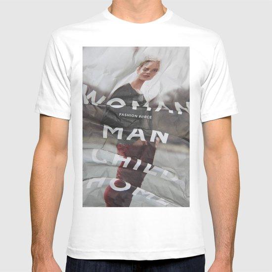 forced fashion T-shirt