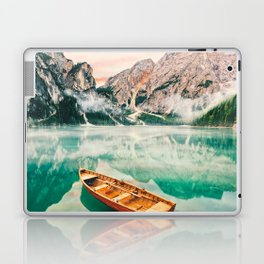 Boats on the lake Laptop & iPad Skin