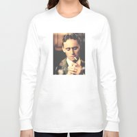 fitzgerald Long Sleeve T-shirts featuring F. Scott Fitzgerald by Earl of Grey