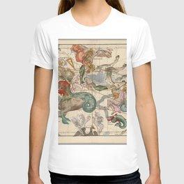 Ignace-Gaston Pardies - Globi coelestis Plate 2: Cetus, Aquarius, Andromeda 1693 T-shirt