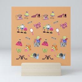 Girl Talk Mini Art Print