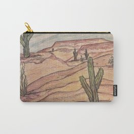Arizona cactus Carry-All Pouch