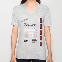 Farnsworth Radio Unisex V-Neck