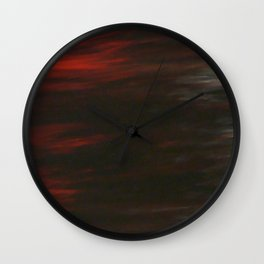 Citylights: Hong Kong Harbour #8 -Right Down - 8 Pieces Wall Clock