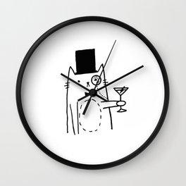 Shaken not Stirred Wall Clock