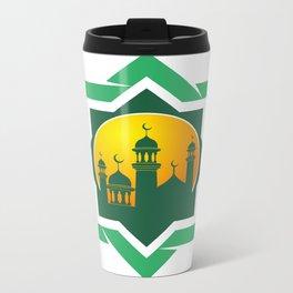 Symbol of Muslim Metal Travel Mug