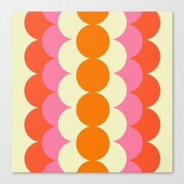Gradual Sixties Canvas Print