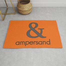 Ampersand Rug