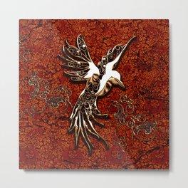 Beautiful, decorative bird Metal Print