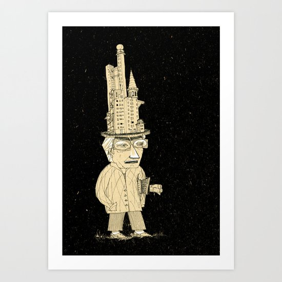 very sophisticated person Art Print