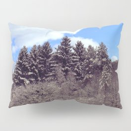 Christmas forrest Pillow Sham
