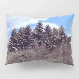 Christmas forrest Pillow Sham