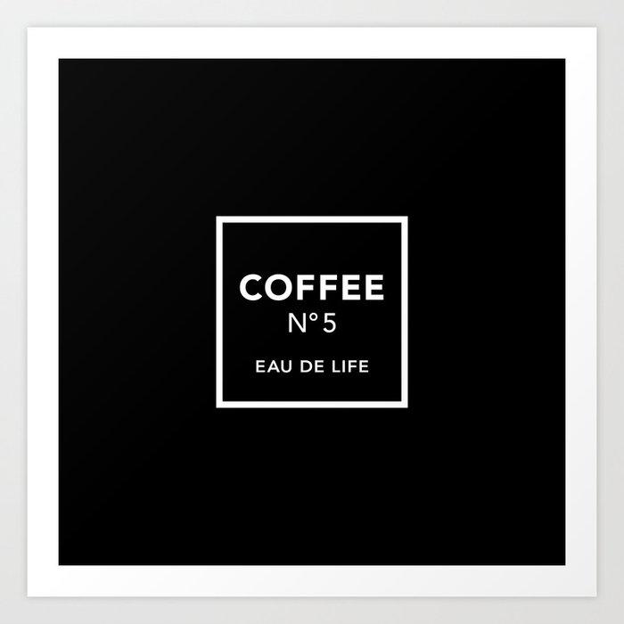 Black Coffee No5 Kunstdrucke
