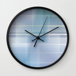 Blue Aura Wall Clock