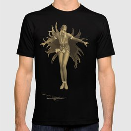 Josephine Baker Feather Costume T-shirt