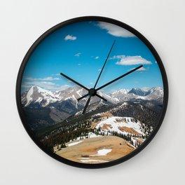 13,000 Feet Wall Clock
